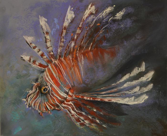 Sulawesi Sirens: Turkey Lion-fish